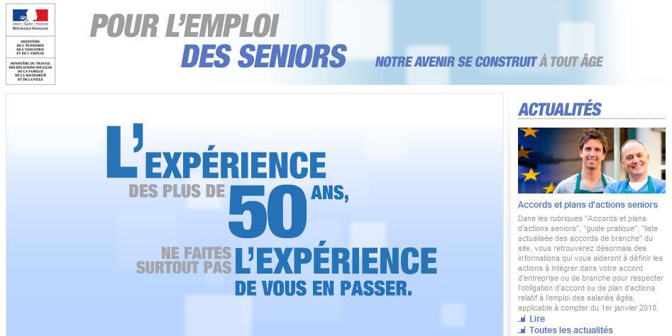 emploi des seniors .gouv.fr